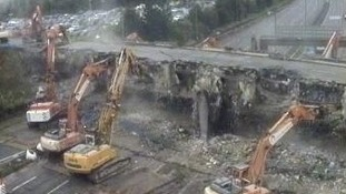 bridge demolition