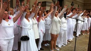 Pride choir sing
