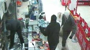 store raid CCTV