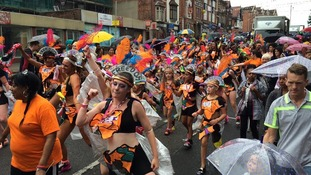 Hundreds take part in the Caribbean Carnival