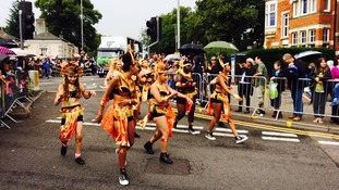 Caribbean Carnival fun on the streets of Leicester