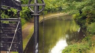 The canal at Lifford Lane at Kings Norton