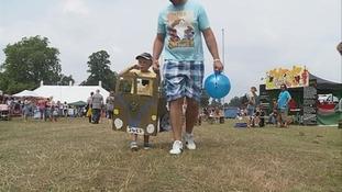 Thetford Forest WhiteNoise festival.