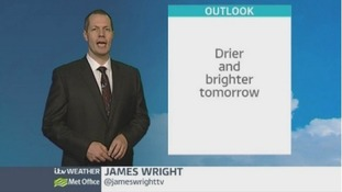 East Midlands video forecast: mainly sunny spells tomorrow