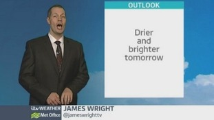 Mainly sunny spells ahead