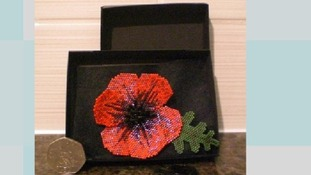 All proceeds from sales of the poppies go towards The Royal British Legion