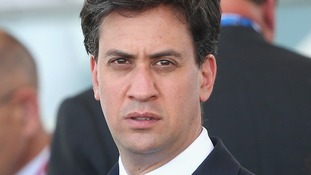 Labour leader Ed Miliband accuses David Cameron of handling the Gaza crisis inadequately.
