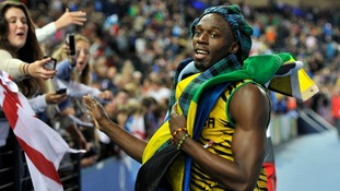 Usain Bolt: Commonwealth Games have been brilliant - apart from the weather