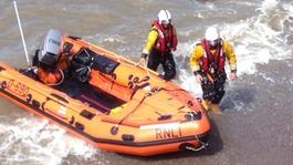 RNLI show rescue skills