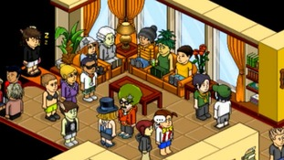 Habbo Hotel, an online community aimed at teenagers