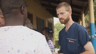 Dr Kent Brantly is being treated at a hospital in Atlanta.