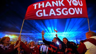 Athletes and spectators say 'thank you Glasgow' as the 2014 Commonwealth Games comes to an end.