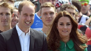 The Duke and Duchess of Cambridge will attend a centenary service in Belgium.