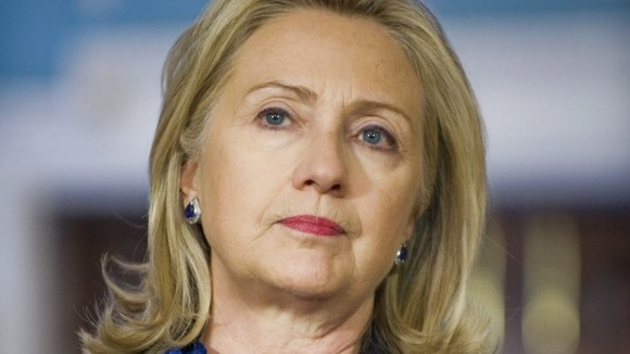 Hillary Clinton criticises Russia for Syrian arms supply