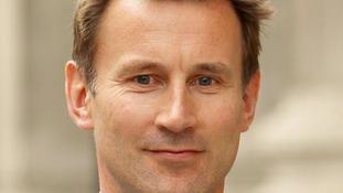 Culture Secretary Jeremy Hunt.