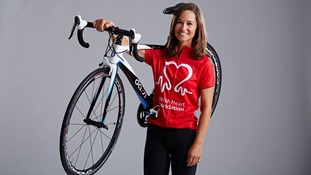 The bike is being sold in aid of the British Heart Foundation.