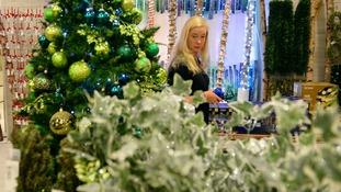 Selfridges Christmas store