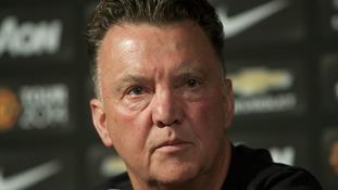 Manchester United head coach Luis Van Gaal