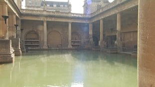 Troops came to the baths for it's healing qualities