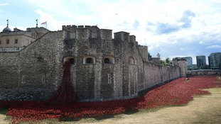 Blood Swept Lands and Seas of Red at Tower Bridge