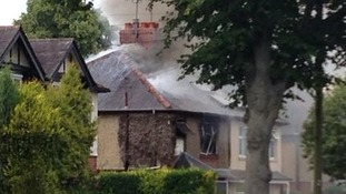 House fire in Banbury