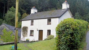 Detectives believe Bridger took the five-year-old to this cottage before scattering her remains around the countryside.