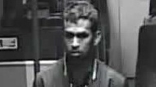 CCTV image of a passenger police are trying to trace