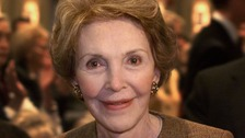 """Nancy Reagan has called ex-US press secretary James Brady the personification of courage and perseverance."""""""