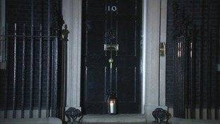 Number 10 prepares for the Lights Out event.