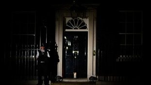 The lights in the Prime Minister's residence were switched off to mark the cenetenary.
