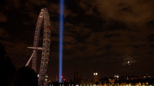 Lights Out on Britain's landmarks to commemorate WWI