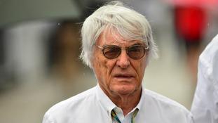 Formula One boss Bernie Ecclestone.
