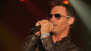 Marti Pellow performs with Wet Wet Wet to a 6,000 strong crowd
