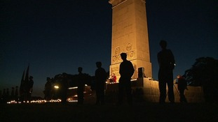 Lights go out across the region to remember WW1