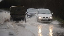 Driving conditions could become dangerous