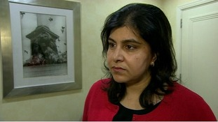 Baroness Warsi says the government's policy on Gaza is