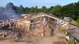 Arrests made following Chilford Hall blaze