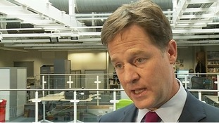 Nick Clegg said Israel had