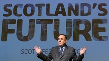 Alex Salmond and Alistair Darling are half an hour into their STV Debate