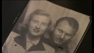 The couple were married in 1952.