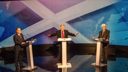 Alex Salmond denies defeat in independence debate