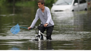 Bicycle flood