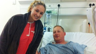 Jade Crawford donated a kidney to her partner Ben Fowles