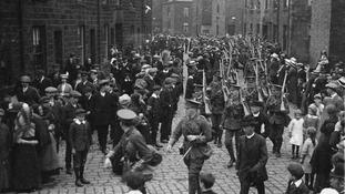 WW1 march