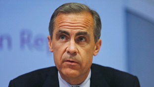 Bank of England governor Mark Carney has indicated rates could rise sooner than expected.