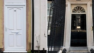 The Number 10 Downing Street for sale in Nottinghamshire and its famous namesake.