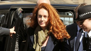 Former News International chief executive Rebekah Brooks at Westminster Magistrates Court