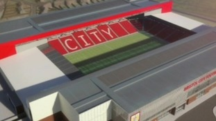 artists impression of proposed stadium