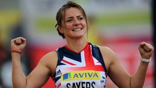 Goldie Sayers will captain Team GB.