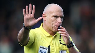 Howard Webb made history in 2010 as the first referee to take charge of the Champions League and World Cup finals in the same season.